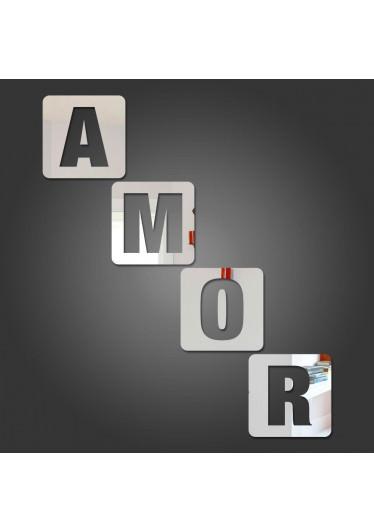 Espelho Decorativo Amor 3