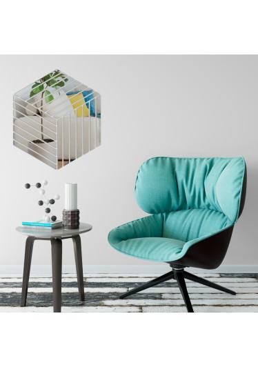 Espelho Decorativo Caixa 3D