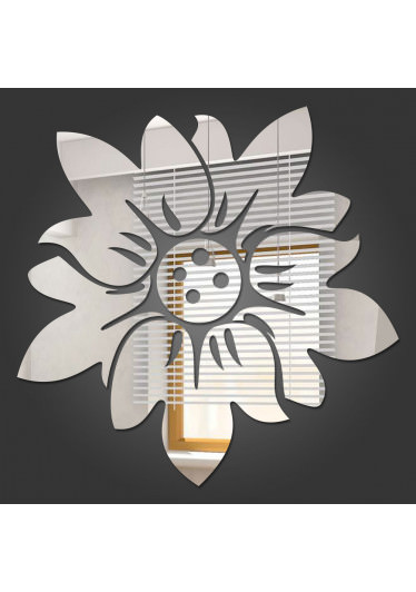 Espelho Decorativo Flor de Lótus