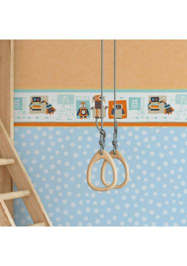 Faixa Decorativa Infantil Robôs - Nido