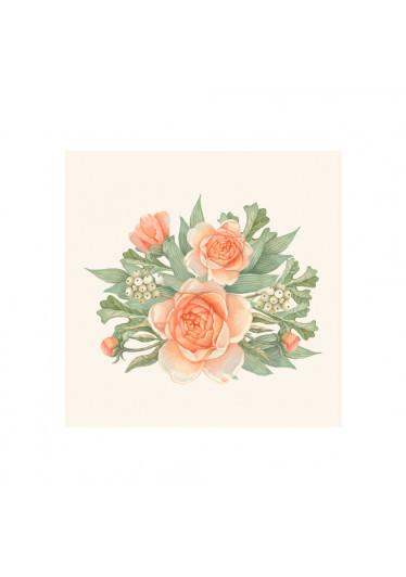 Poster Decorativo Bouquet de Flores