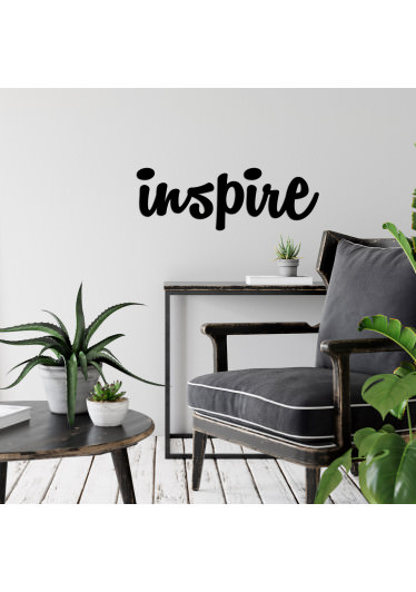 "Palavra Decorativa 3D ""Inspire"""