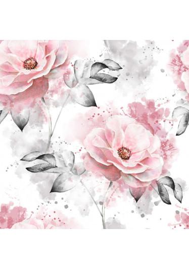 Papel de Parede Flores Aquarela