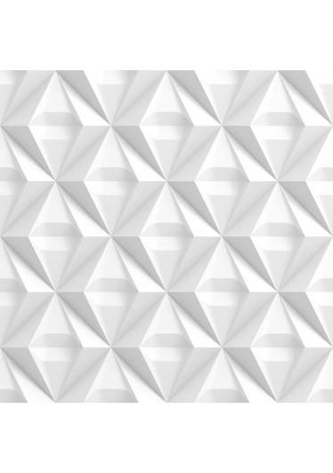 Papel De Parede 3D Abstrato Losangos