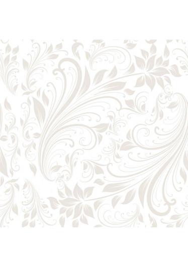 Papel de Parede Estampa Floral (Ocre)