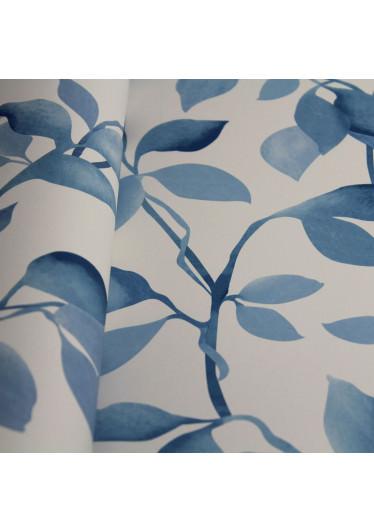 Papel de Parede Muresco Allegra Folhagem Azul