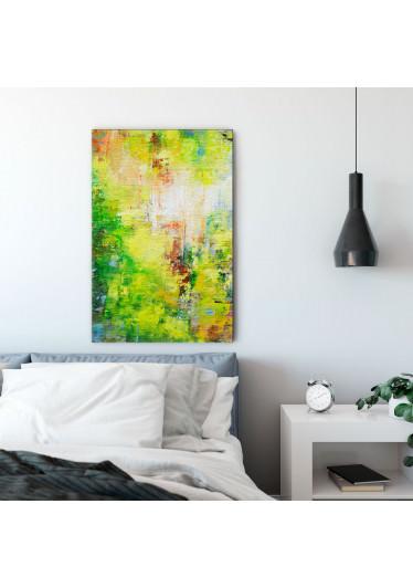 Quadro Decorativo Pintura Natureza Abstrata