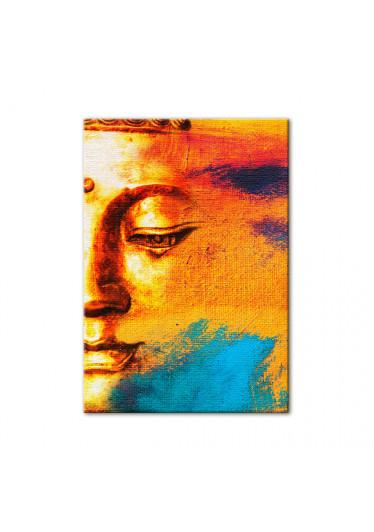 Quadro Decorativo Buddah Abstrato