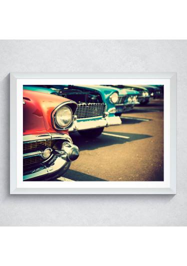 Quadro Decorativo Carros Antigos