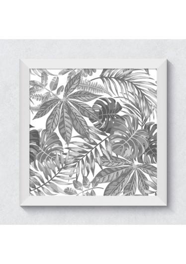 Quadrinho Folhagem Tropical