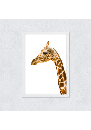 Quadro Decorativo Girafa II