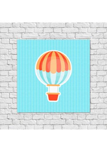 Conjunto de Quadros Decorativos Infantis Balão