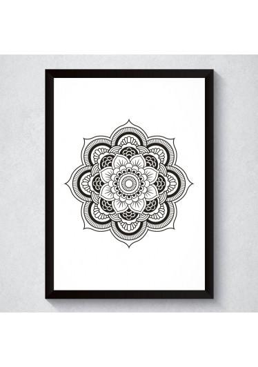 Quadro Decorativo Mandala