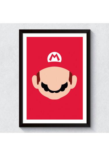 Quadro Decorativo Mario Bros
