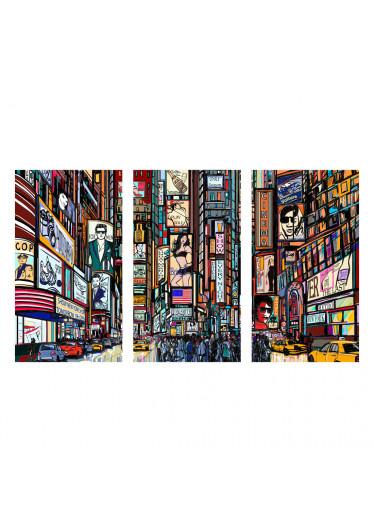 Quadro Decorativo Times Square
