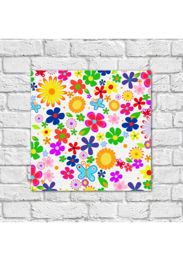 Quadro Decorativo Estampa Floral