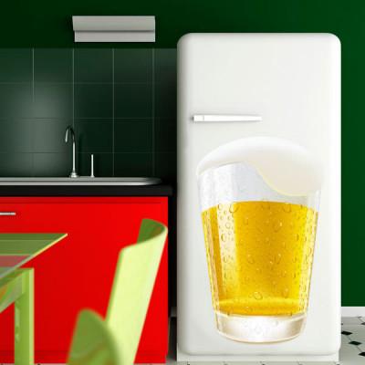 Adesivo de Cozinha Copo de Cerveja