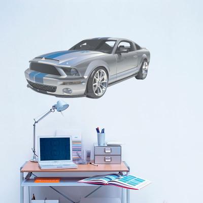 Adesivo Decorativo de Parede Mustang II