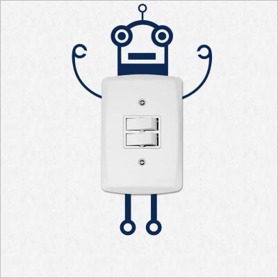 Adesivo para Interruptor Robô