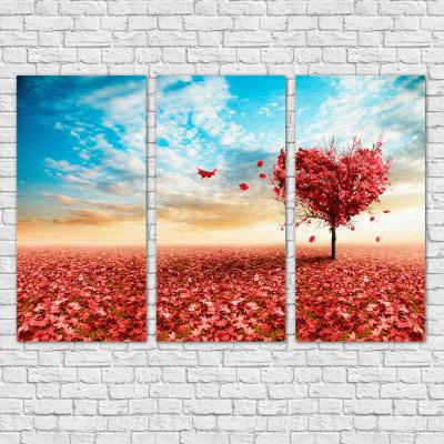 Quadro Decorativo Árvore de Cerejeira - Em Canvas