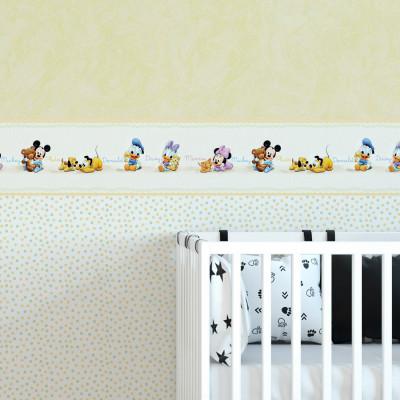 Faixa Decorativa Infantil Disney Baby - Disney - Rolo com 5 Metros