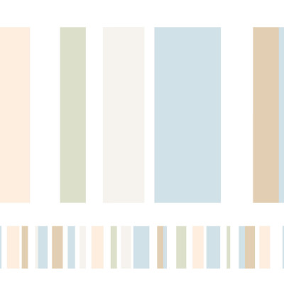 Faixa Decorativa Listras Coloridas I