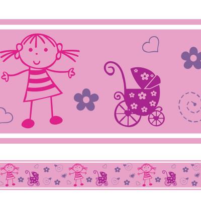 Faixa Decorativa Infantil Menina