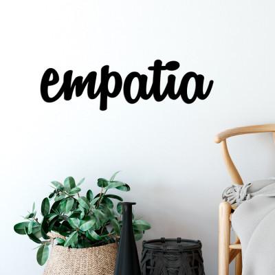 "Palavra Decorativa 3D ""Empatia"""