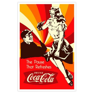 Poster Vintage Coca-Cola