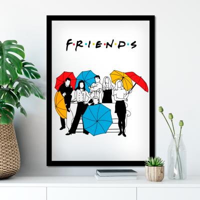 Quadro Decorativo da Serie Friends