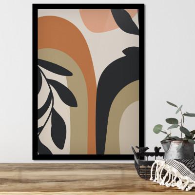 Quadro Decorativo Raminho de Folha