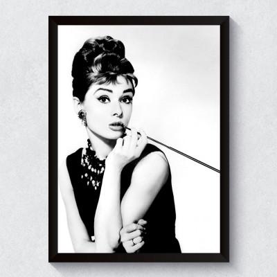 Quadro Decorativo Audrey Hepburn