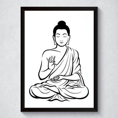 Quadro Decorativo Buda