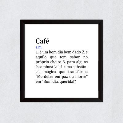 Quadro Decorativo Café Significado