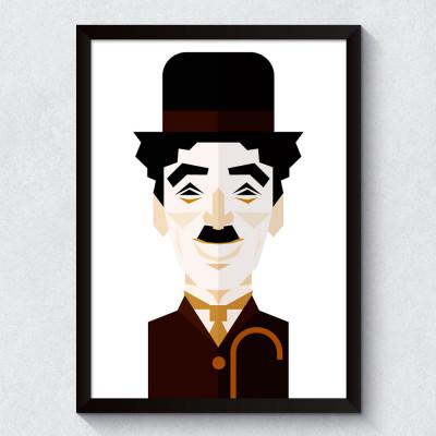Quadro Decorativo Chaplin