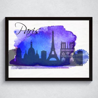 Quadro Decorativo Paris
