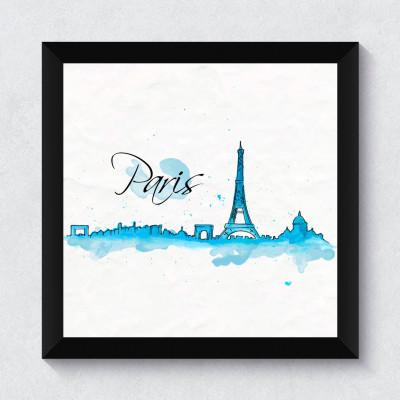 Quadrinho Decorativo Paris