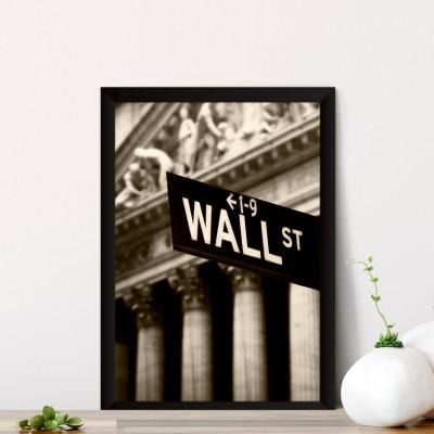 Quadro Decorativo Wall Street New York