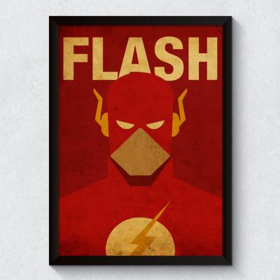 Quadro Decorativo The Flash