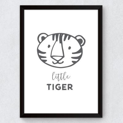Quadro Decorativo Infantil Little Tiger