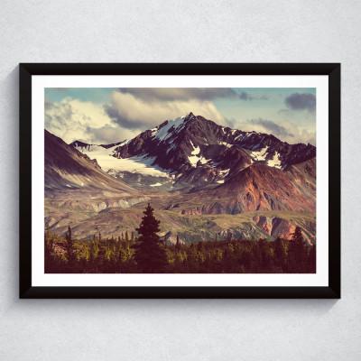 Quadro Decorativo Montanhas