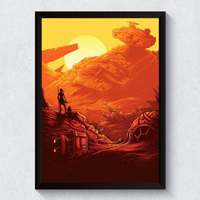 Quadro Decorativo Star Wars O Despertar da Força IV