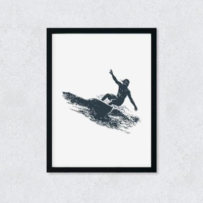 Quadro Decorativo Surfista