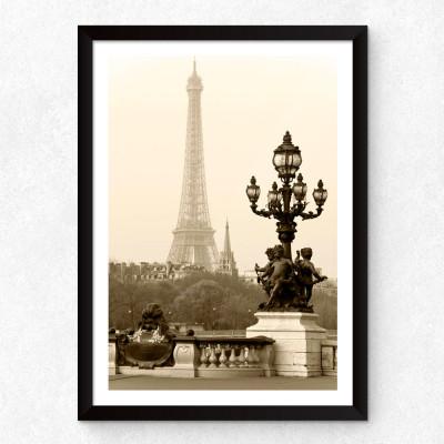 Quadro Decorativo Torre Eiffel (Fotografia)