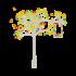 Adesivo Árvore Pássaros Namorados