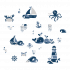 Adesivo de Parede Infantil Oceano