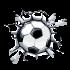 adesivo parede infantil bebe bola futebol