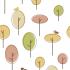 Papel de Parede Árvores Minimalistas