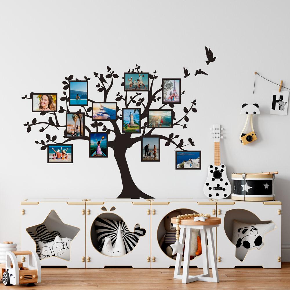 Adesivo de Parede Árvore da Família (Porta Fotos)