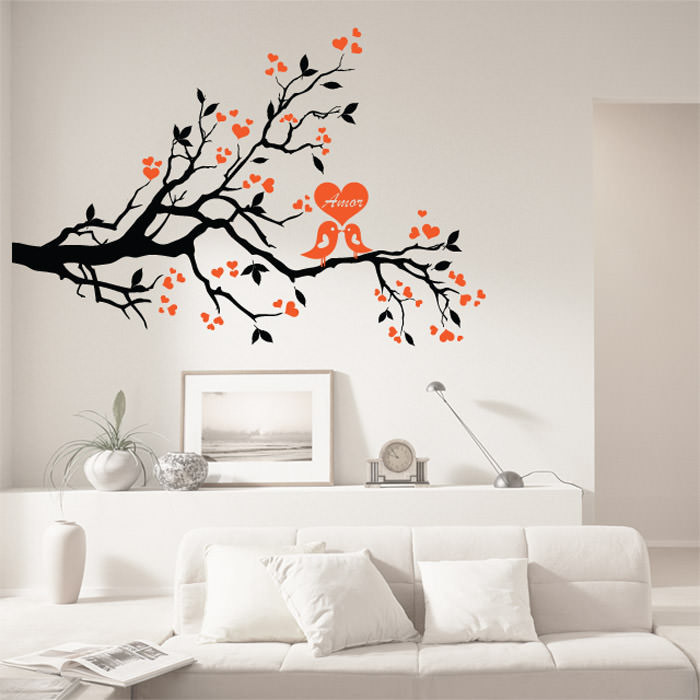 Adesivo de Parede Árvore do Amor